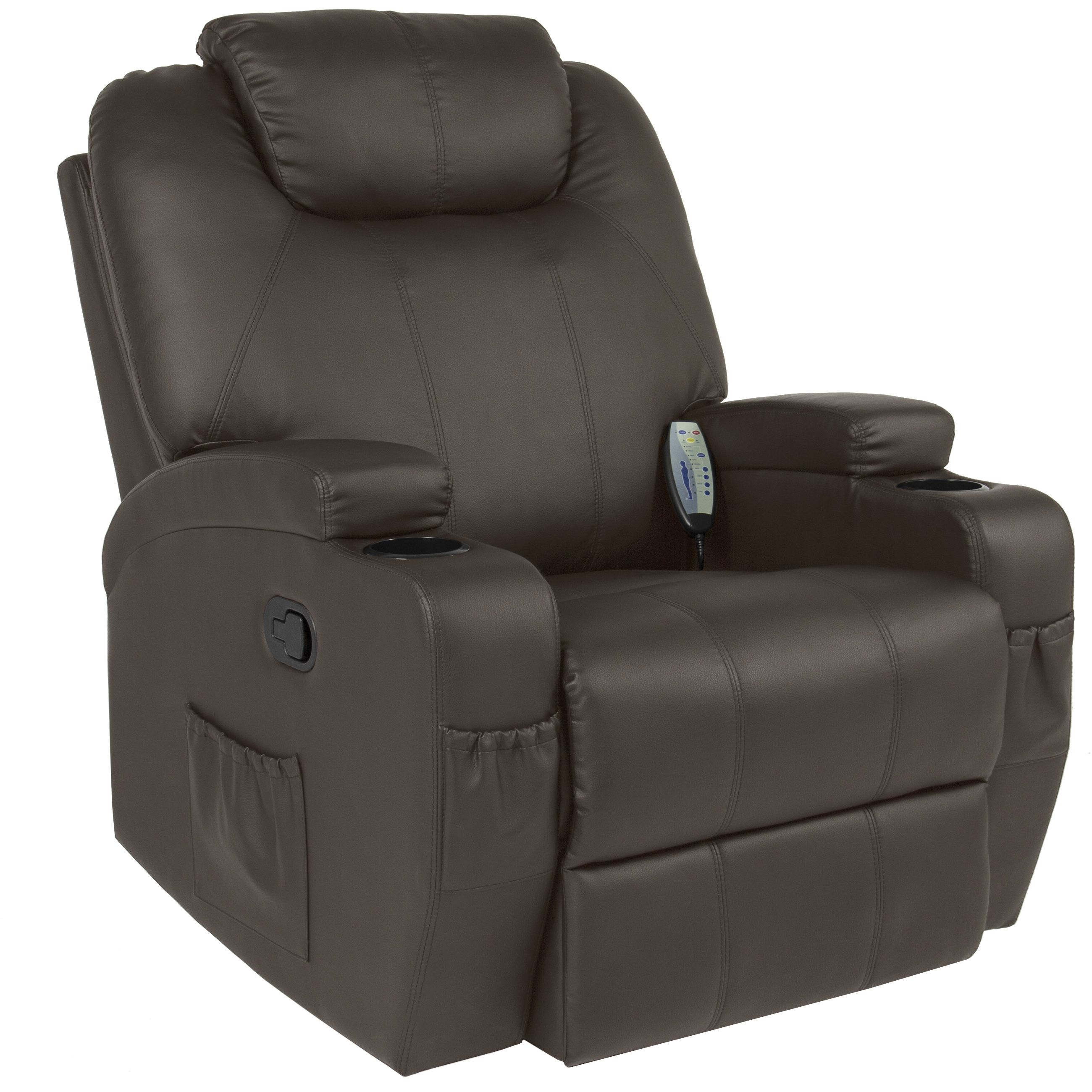 Best Choice Products Massage Recliner Sofa Chair Heated W