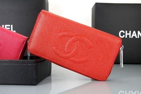 Wholesale Réplique Chanel 3660 en cuir rouge Zip Around Wallet - €117.95 : répliques sac Louis Vuitton,Hermès sacs réduction,Chanel pas cher   Sac Chanel bags