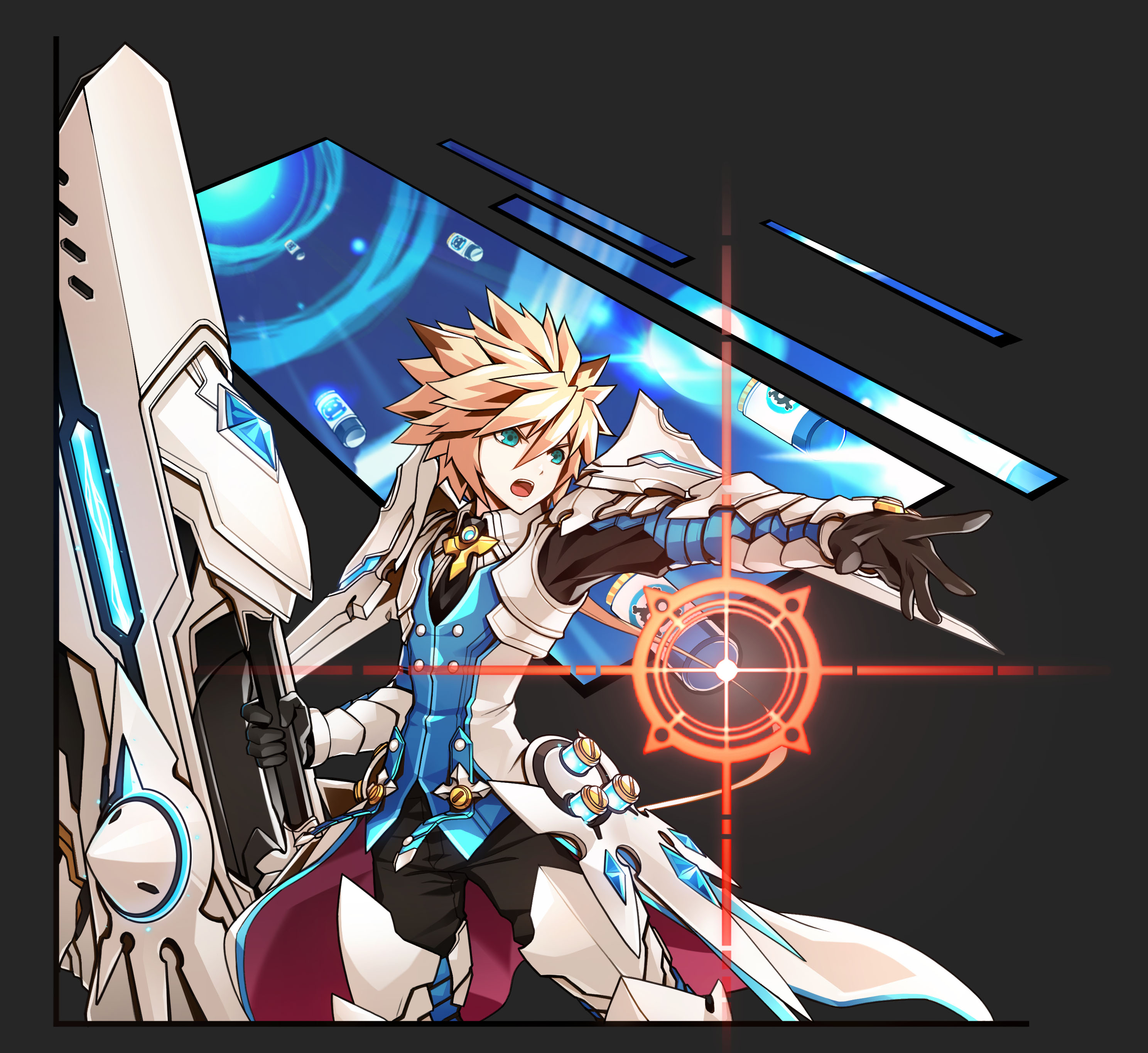 Elsword how to use skill slot b picture