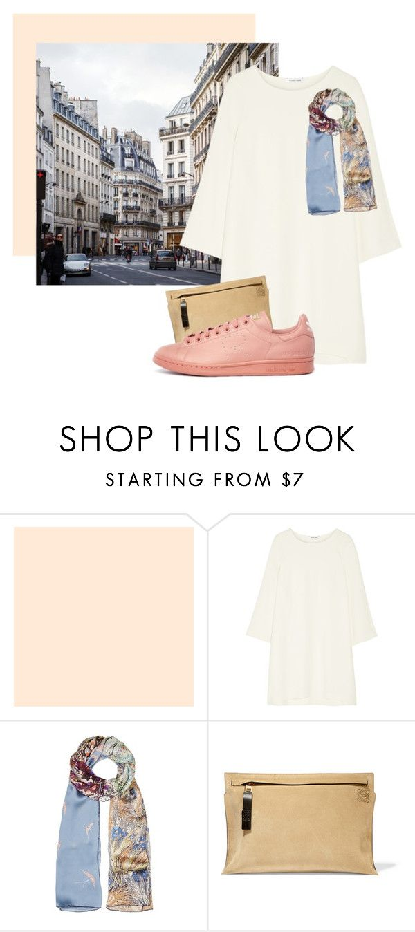 """Morning Stroll"" by carisse-118 ❤ liked on Polyvore featuring Helmut Lang, Valentino, Loewe, women's clothing, women, female, woman, misses, juniors and springfashion"