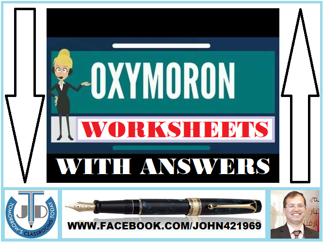 Oxymoron worksheets with answers | Tes resources, Worksheets and ...