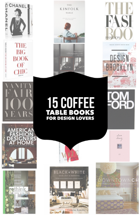 Oct 28 15 coffee table books for design lovers Xmas Coffee and Books