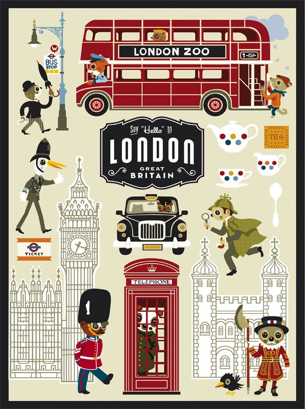 london poster f r kinder children 39 s book pinterest london calling britain and travel. Black Bedroom Furniture Sets. Home Design Ideas