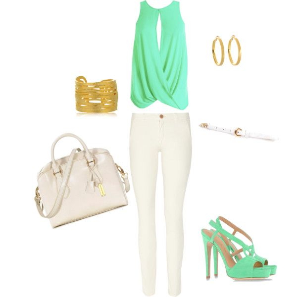"""""""Mint Wash"""" by kes109 on Polyvore"""