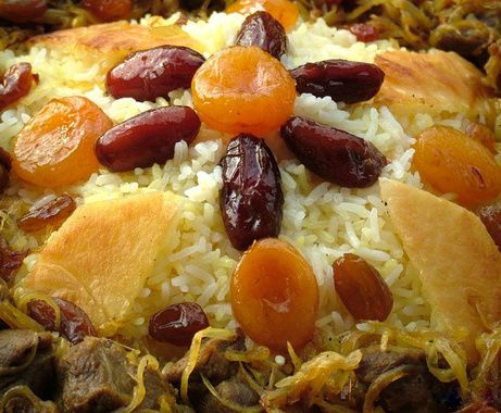 Plaf is the most common dish at azerbaijani weddings and for Azerbaijani cuisine