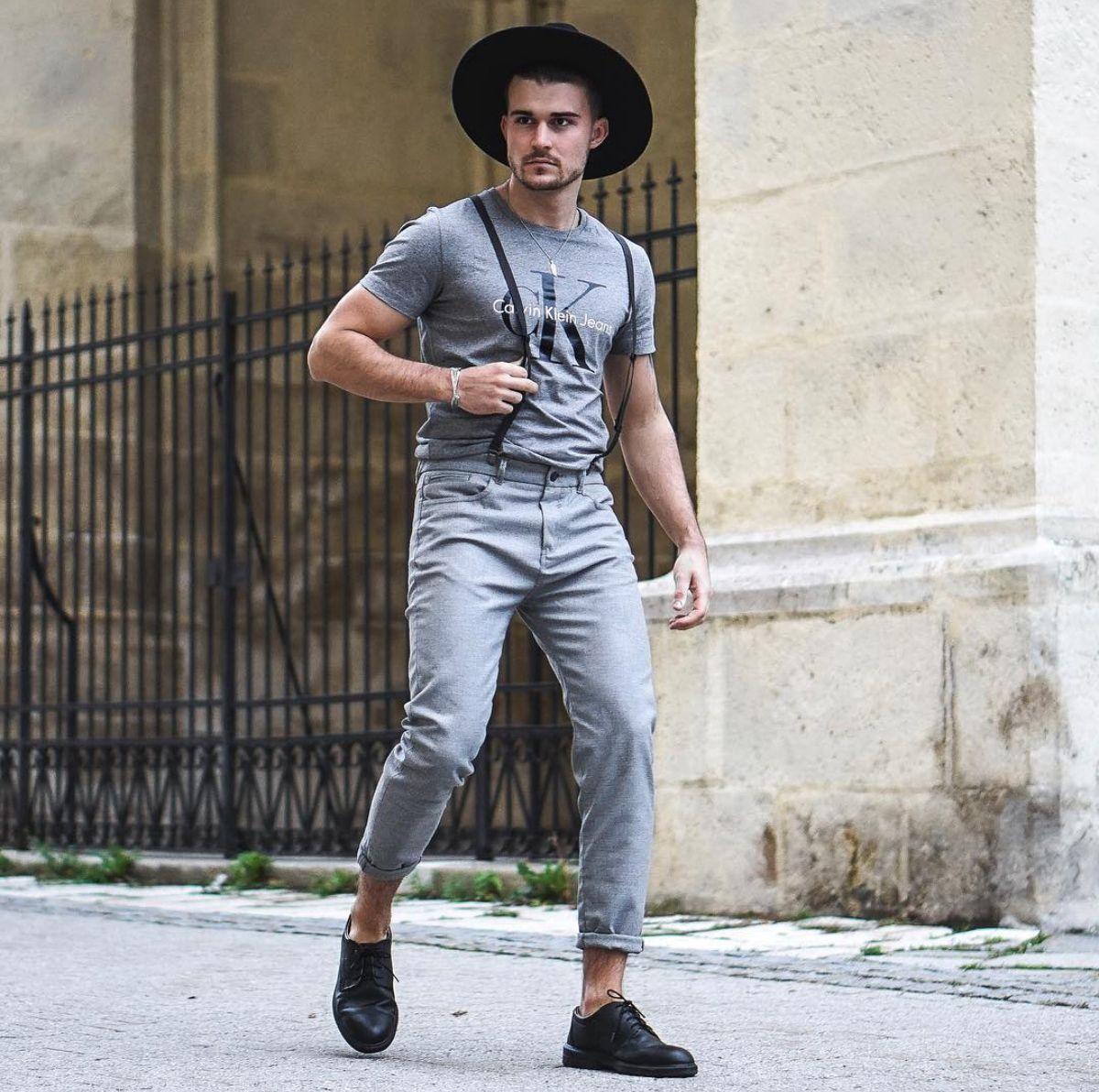 Chapéu Fedora masculino: O que é? Como usar?   Roupa urbana