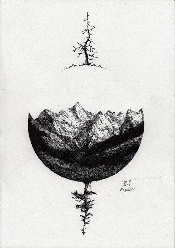 Photo of Stilvolle Berg-Tattoos #ad #geometrictattoos –  Stilvolle Gebirgstattoos #Anzeig…