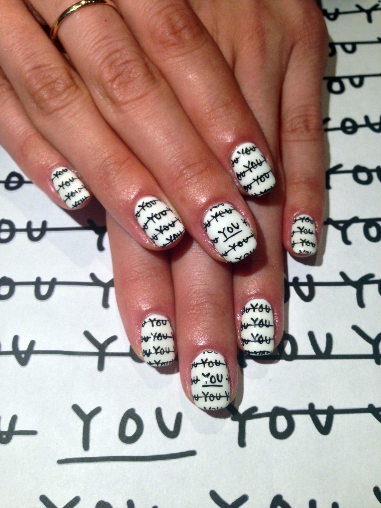 SHANTELL MARTIN inspired nail art history   Sartle: Art History Nail ...