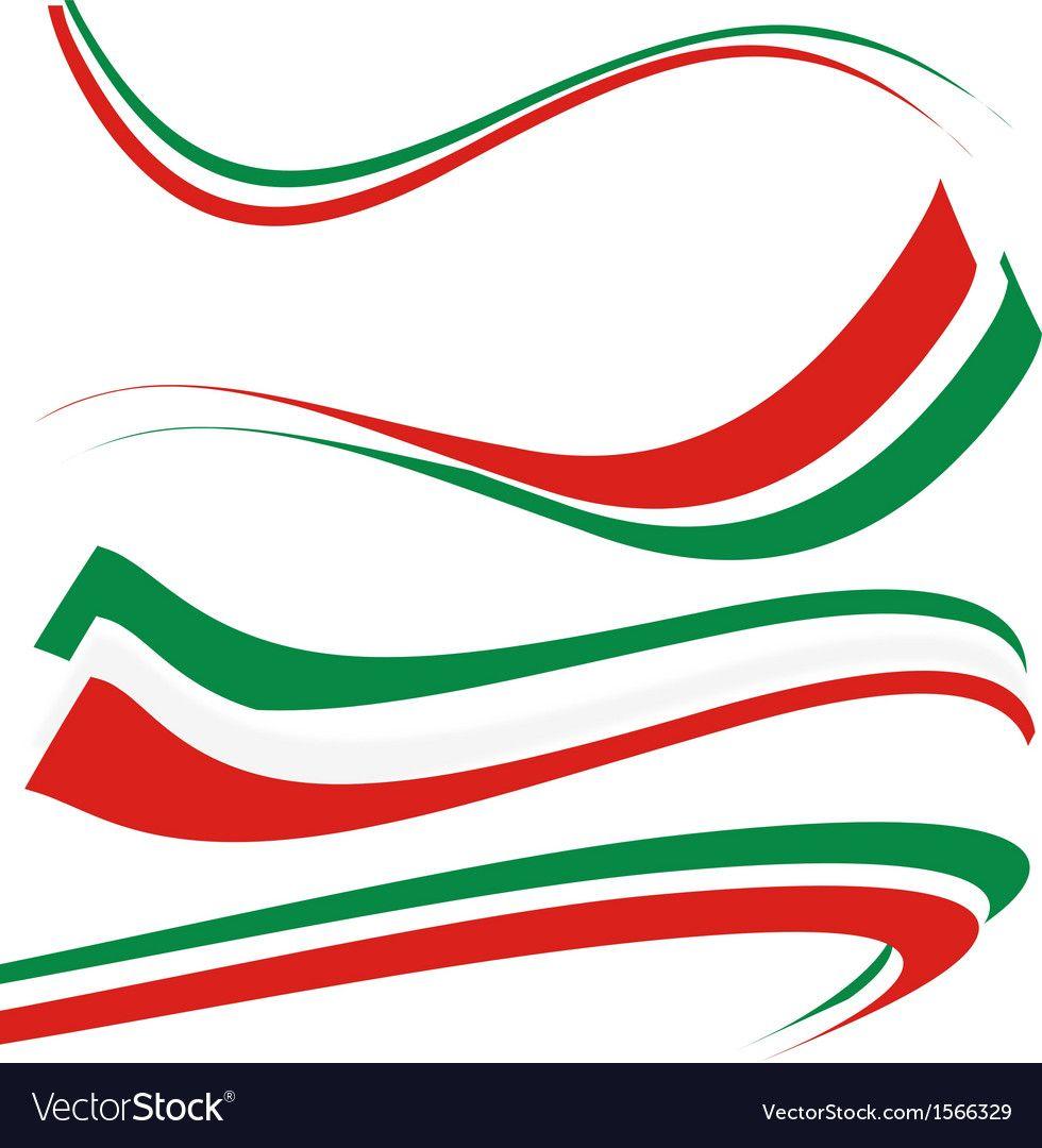 Italian Flag Royalty Free Vector Image Vectorstock Ad Royalty Flag Italian Free Ad In 2020 Vector Free Flag Vector Italian Flag