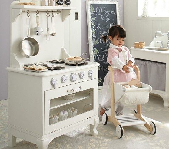 Pottery Barn Play Kitchen Used: Farmhouse Kitchen Collection