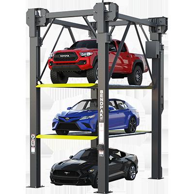 Three Level Parking Lift By Bendpak