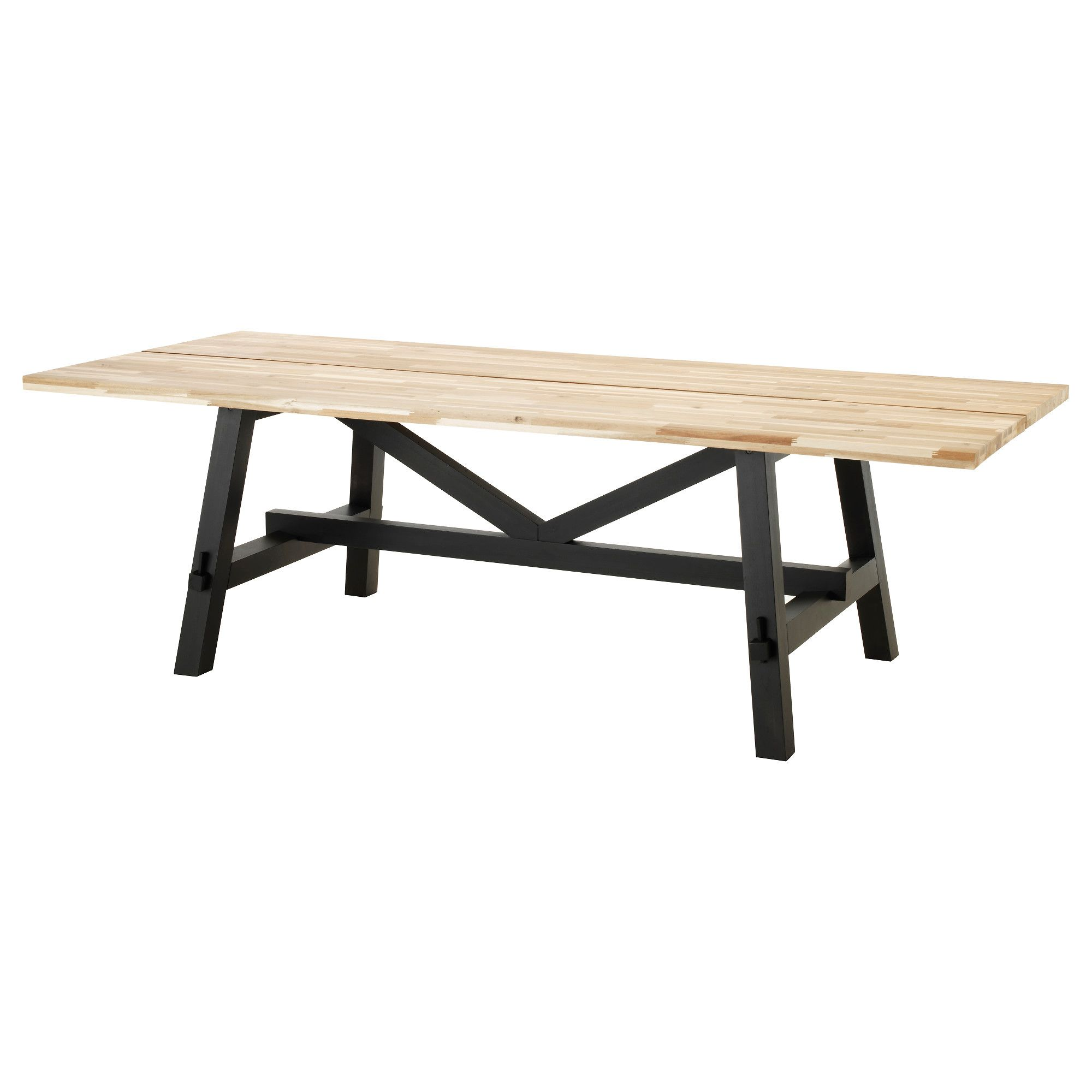 IKEA - SKOGSTA, Dining table, Every table is unique, with varying ...