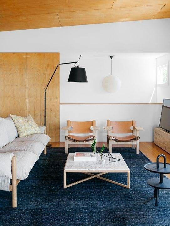 12 minimalist moments we found in australia Navy rug Minimalist