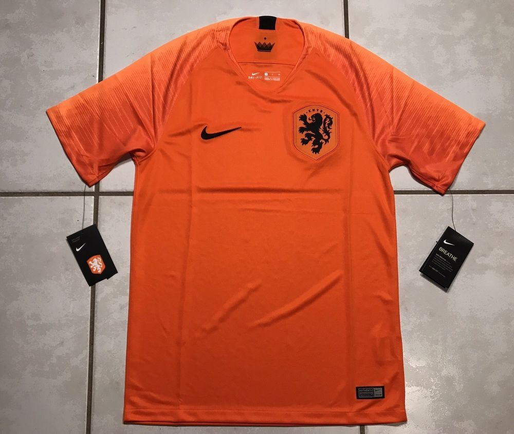 timeless design 0edda 48f54 NWT NIKE Netherlands National Team 2018 HOME Jersey Men's ...