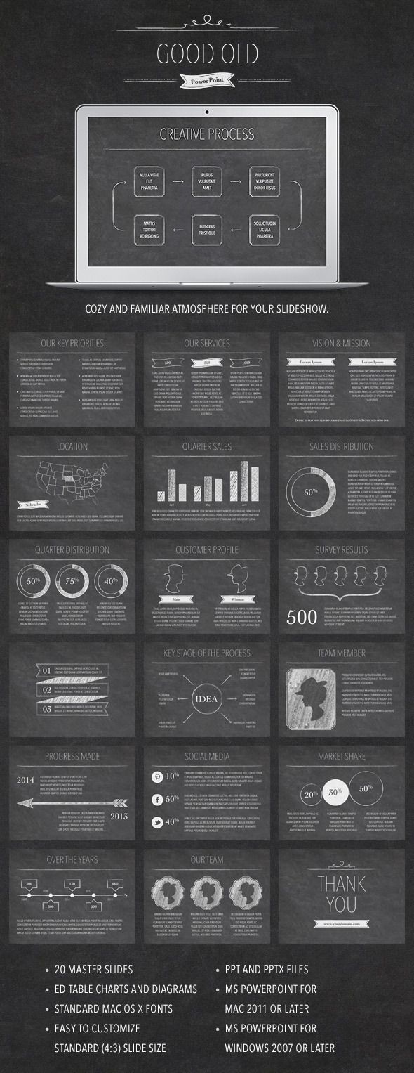 Good Old Powerpoint Template