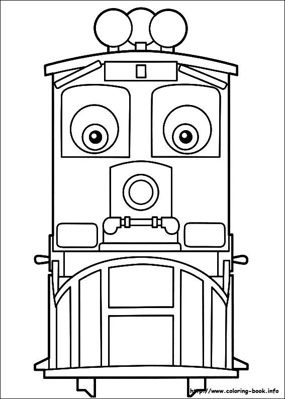 Chuggington coloring picture | Coloring and Activities | Pinterest