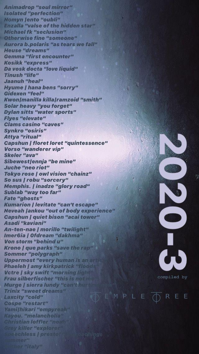 20203 on Spotify in 2020 Underground music, Edm music