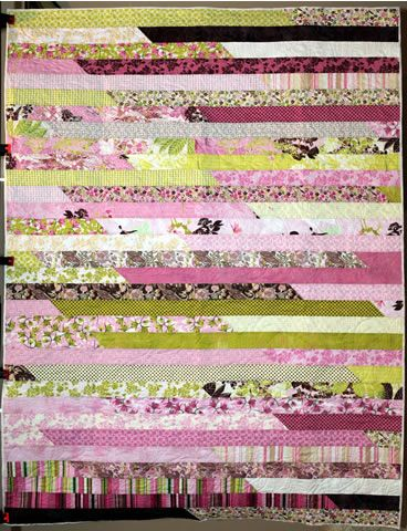 jelly roll pink and green
