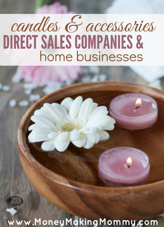 List of Candle Direct Sales Companies | Money Making Mommy