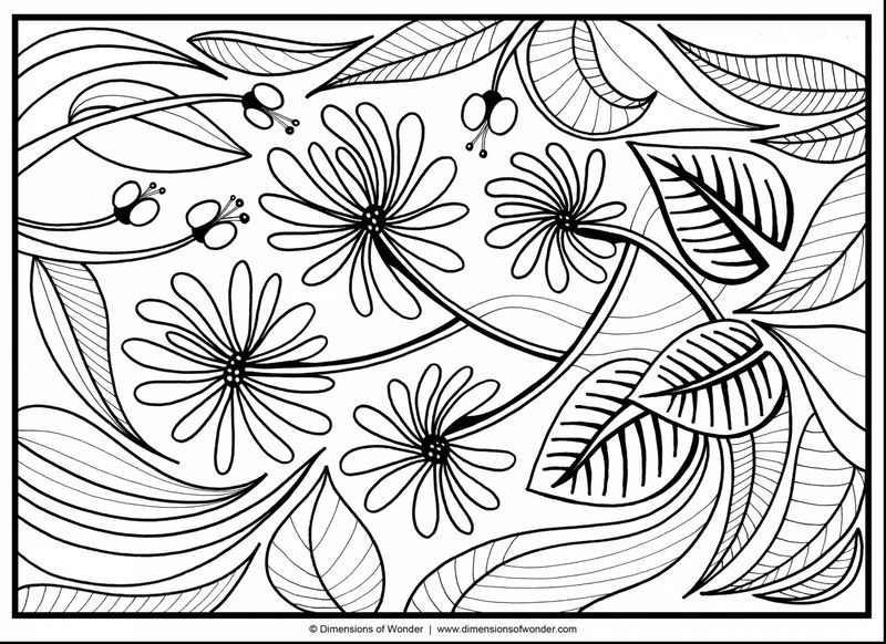 Windy Flower Coloring Pages See the category to find more ...