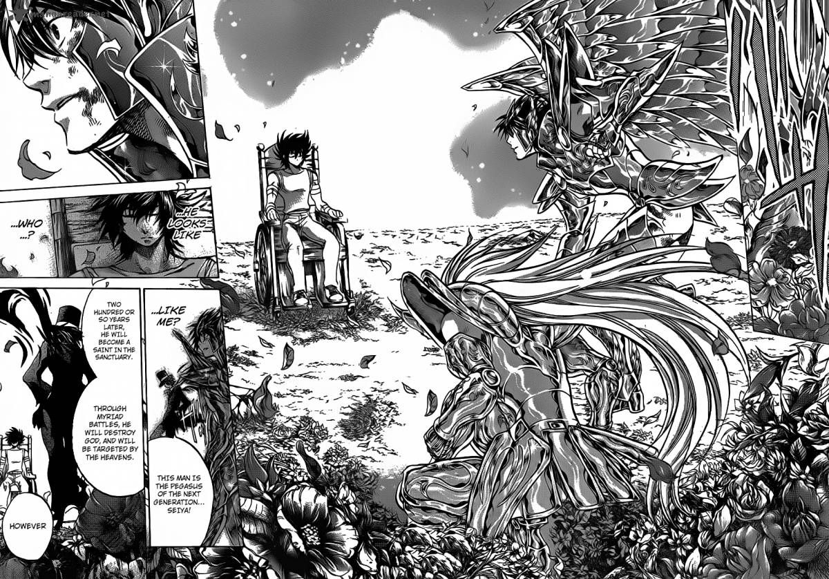 manga saint seiya the lost canvas