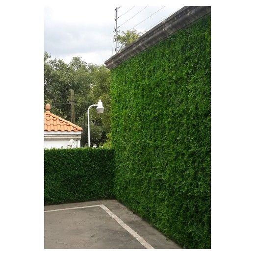 Artificial Maya Wall Panels Set Of 4 Greensmart Decor Target Pool Landscape Design Artificial Foliage Garden Fountain