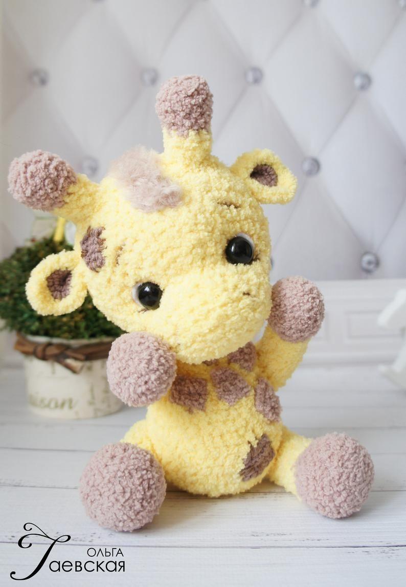 Jirafa Crochet - Amigurumi - Juguetes Bebes Y Niños | 1147x794