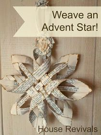 House Revivals: Christmas Swedish Advent Star -- A New Variation