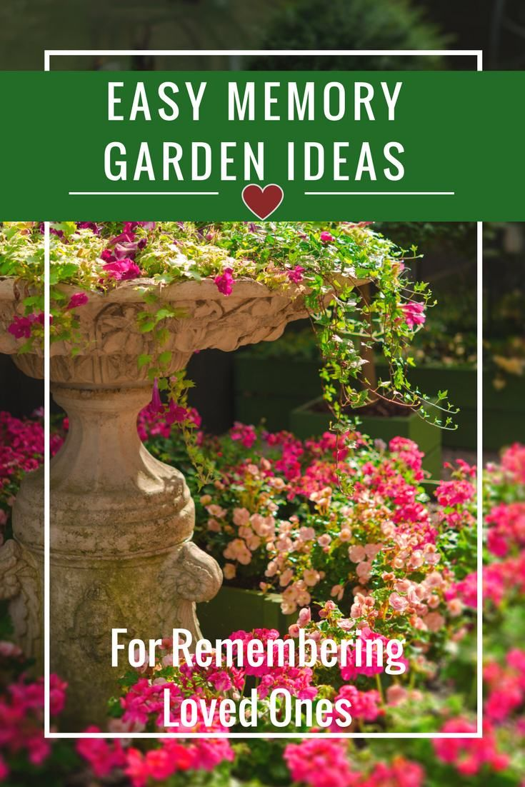 Easy Memory Garden Ideas For Remembering Loved Ones