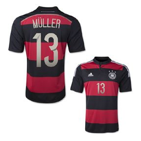 f11be953de7 adidas youth germany muller 13 world cup 2014 soccer jersey (away)