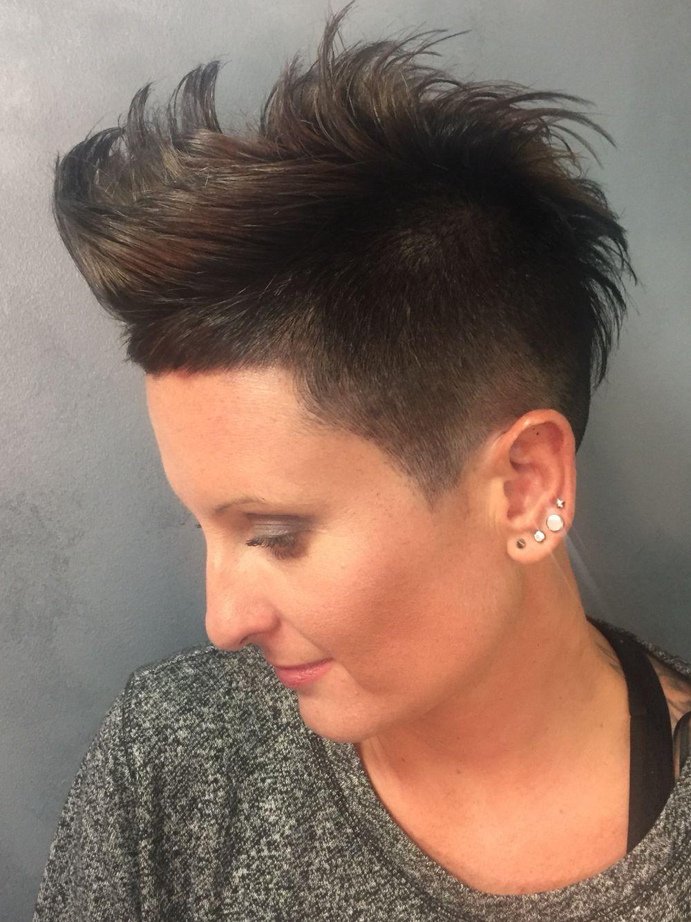 Womens Short Razor Undercut Short Haircut Hair Done By PattyP - Razor haircut