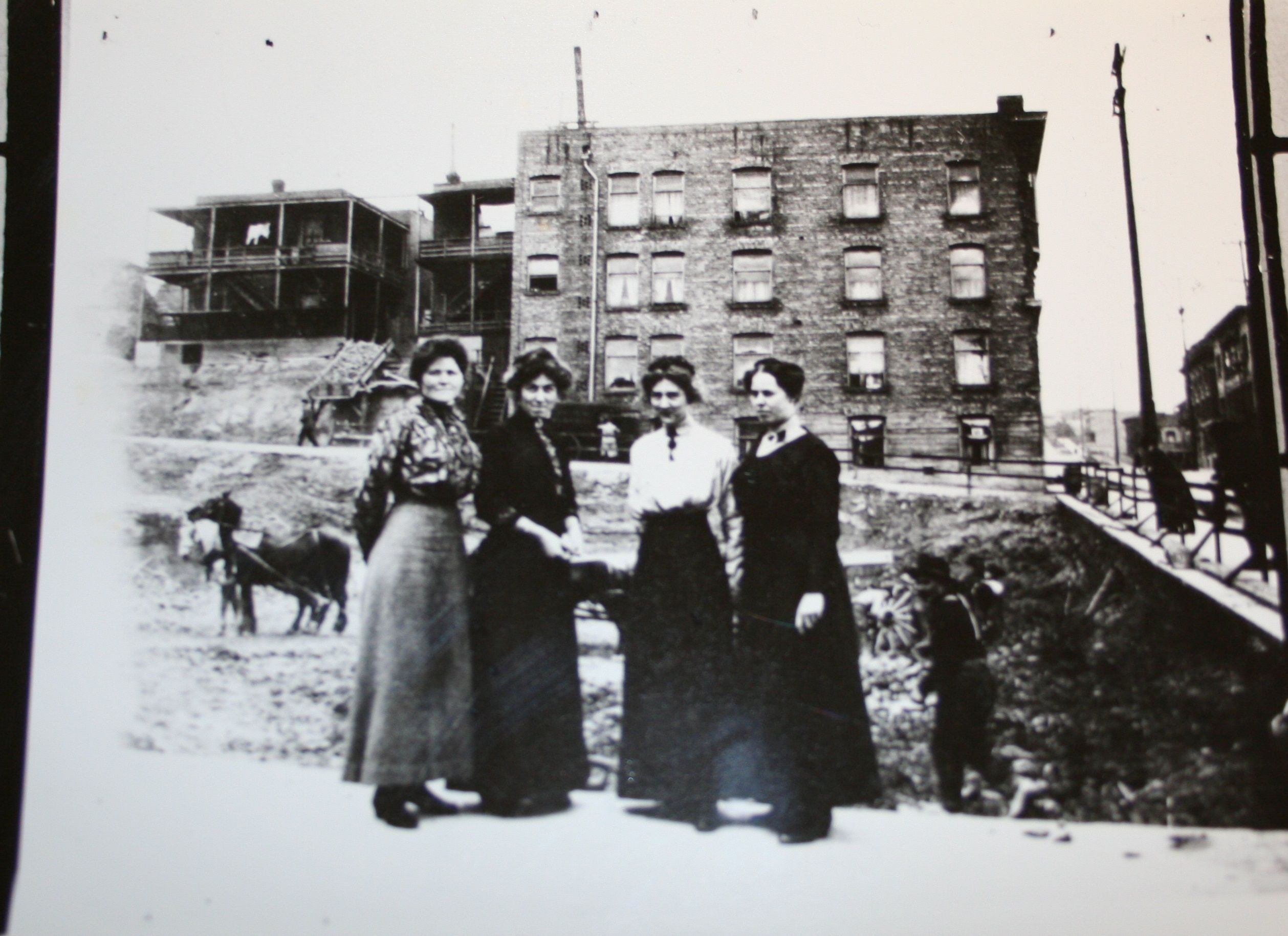 #YWCA Staff at new building in 1914.