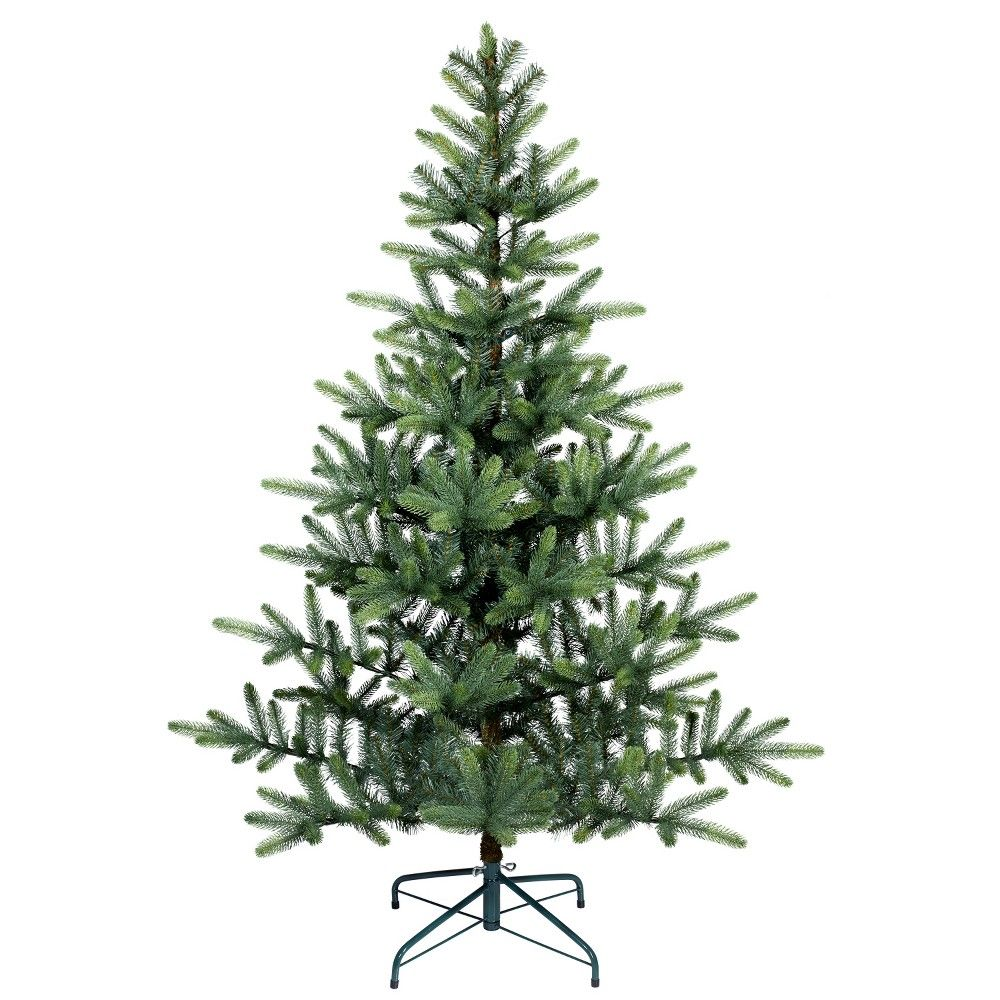 5.5' Unlit Artificial Christmas Tree New Growth Green