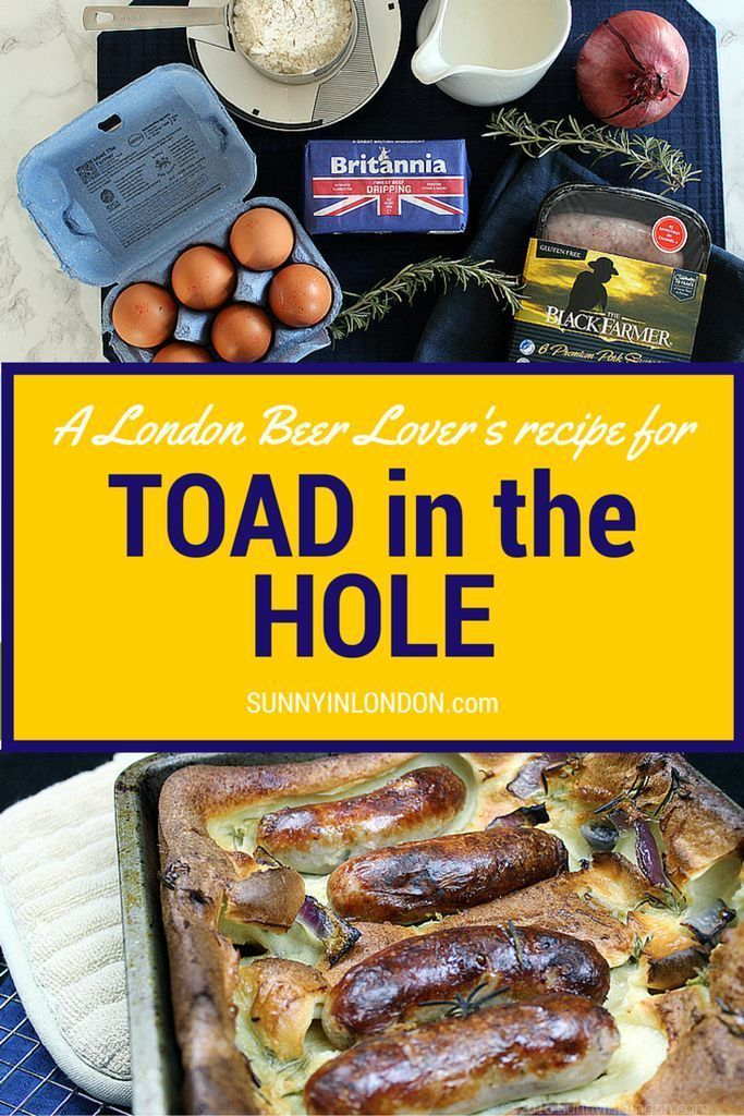 Easy toad in the hole recipe easy british food recipes and easy toad in the hole forumfinder Image collections