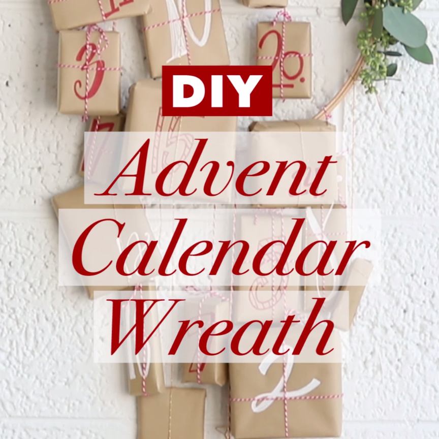 Diy Advent Calendar Wreath : Http tipsalud diy advent calendar wreath christmas