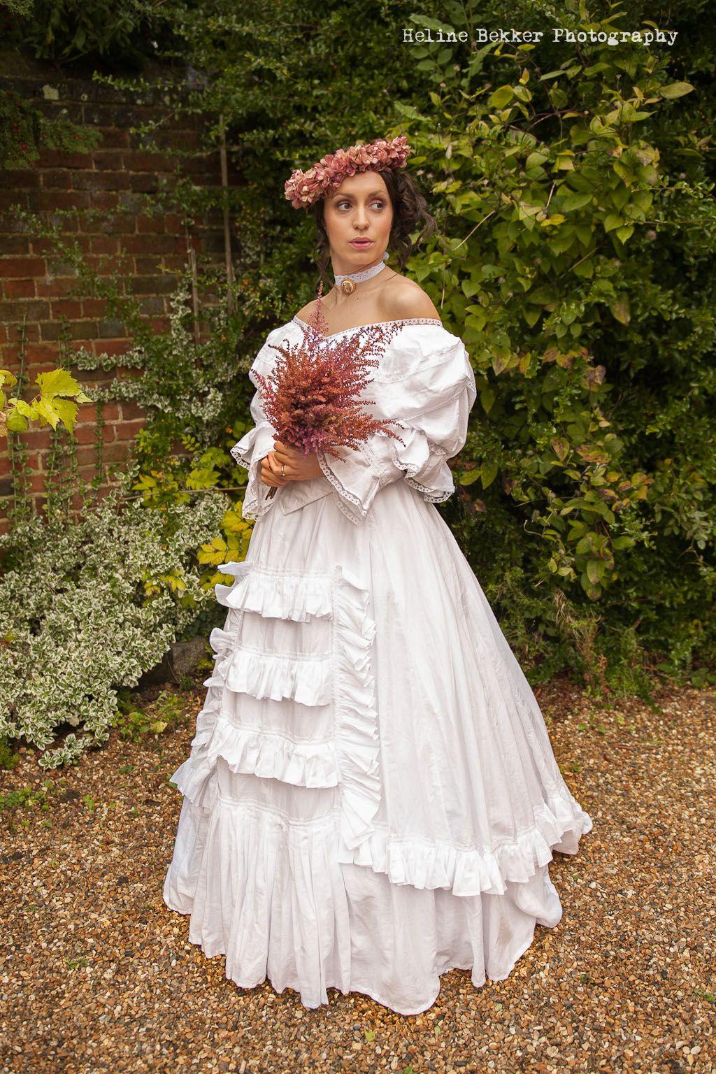 Victorian wedding dress Edwardian wedding dress