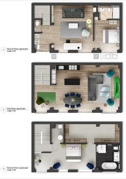 mews house refurbishment in london fitzrovia contemporary floor plan london tg - Mews House Design