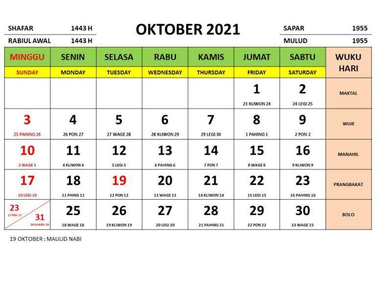 Kalender Nasional Tahun 2021 Lengkap Dengan Tanggalan Jawa Dan Islam Di 2020 Kalender Tanggal Pemerintah