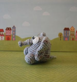Woolly Toons: Egmont the Elephant Pattern
