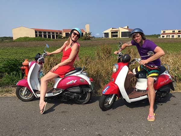 Kinmen Scooter Rental Scooter Rental Scooter Scooter Girl