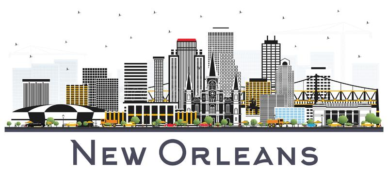 New Orleans Clipart Google Search New Orleans Skyline City Skyline New Orleans Louisiana