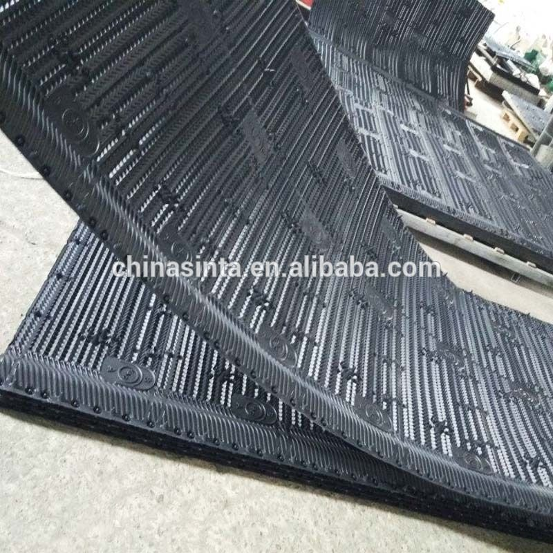 Large Sheet Size Cooling Tower Pvc Film Fill Cooling Tower Manufacturing Sheet Sizes
