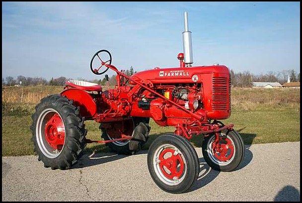 1949 Farmall Super A Tractor Mecum Auctions Farmall Tractors Farmall Super A