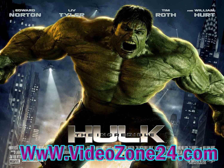The Incredible Hulk (2008) English MKV 350MB
