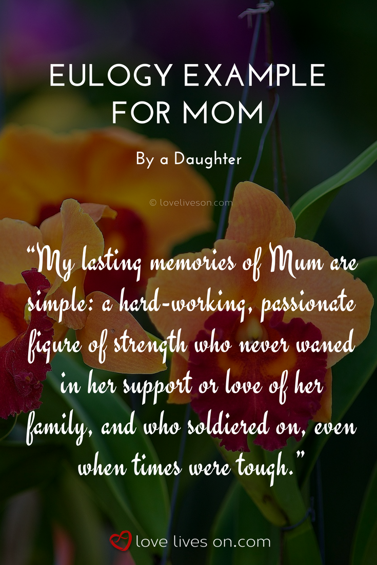 eulogy for daughter