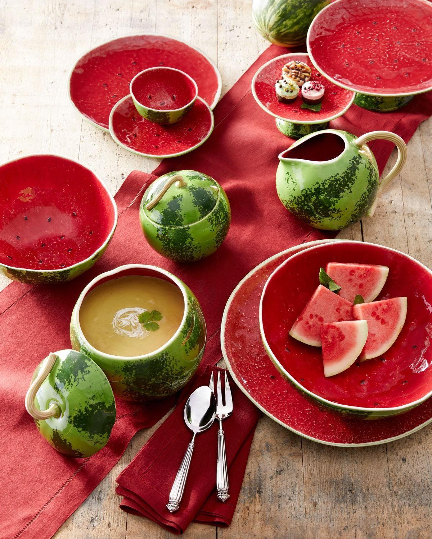 Bordallo Pinheiro Watermelon Pitcher Watermelon, Savoury