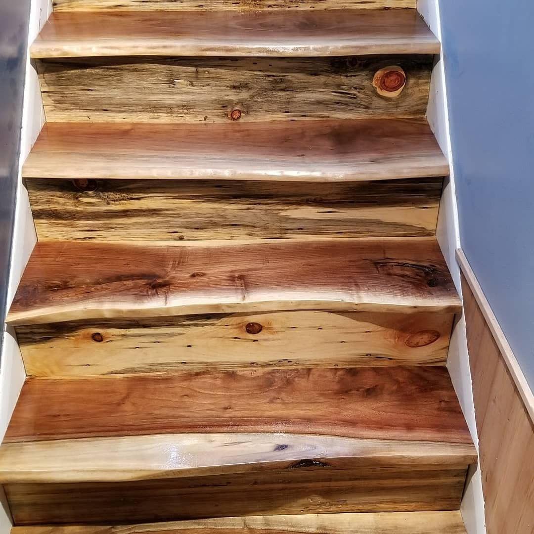 Best Live Edge Black Walnut Stairs Live Edge Stairs Barn Plans 640 x 480