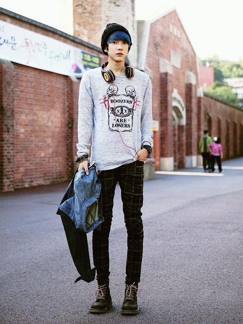 asian men wear
