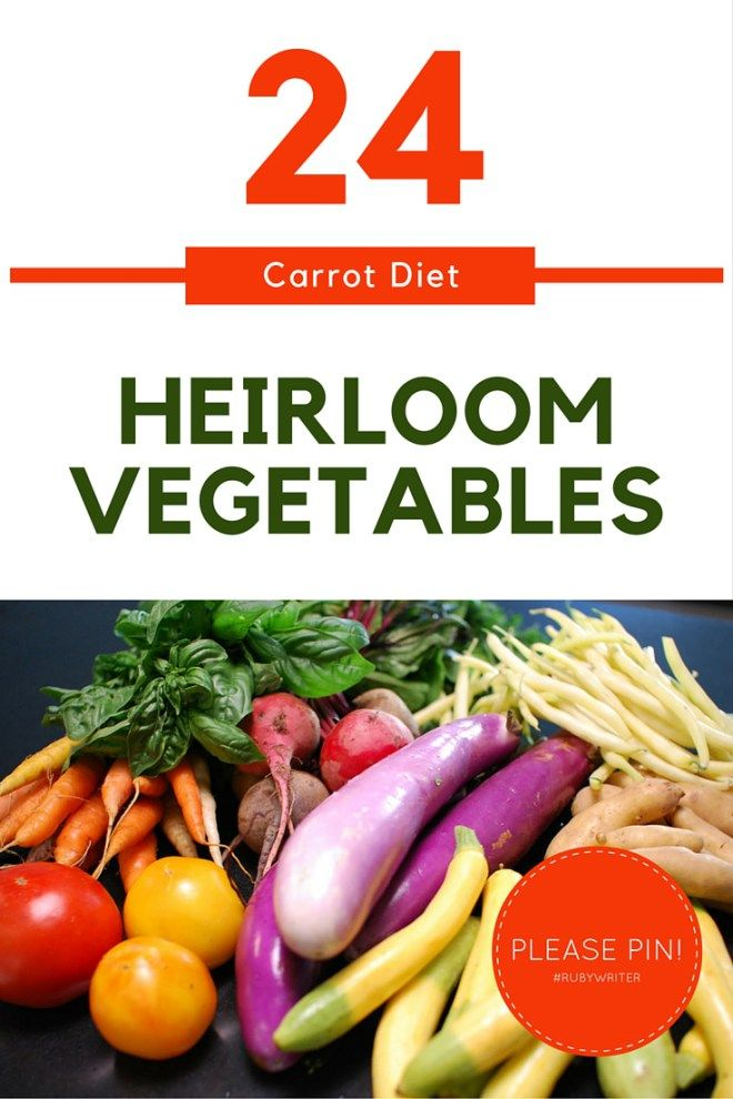 What makes a vegetable an heirloom? | #gardening #veggies