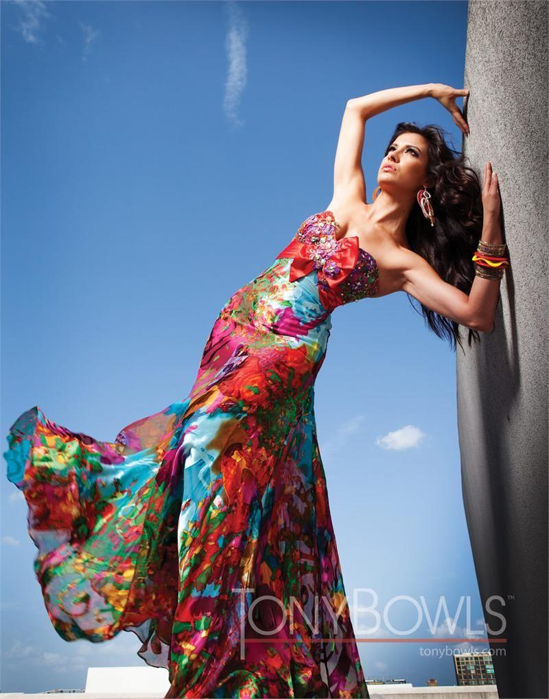 Paris by Tony Bowls 2011 Leopard Prom dress 111703 | More stuff ...